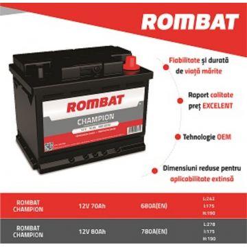 Baterie CHAMPION  Rombat 12 V - 70 Ah