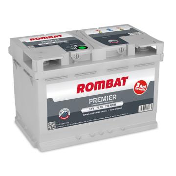 Baterie auto Rombat Premier 12 V - 75 Ah